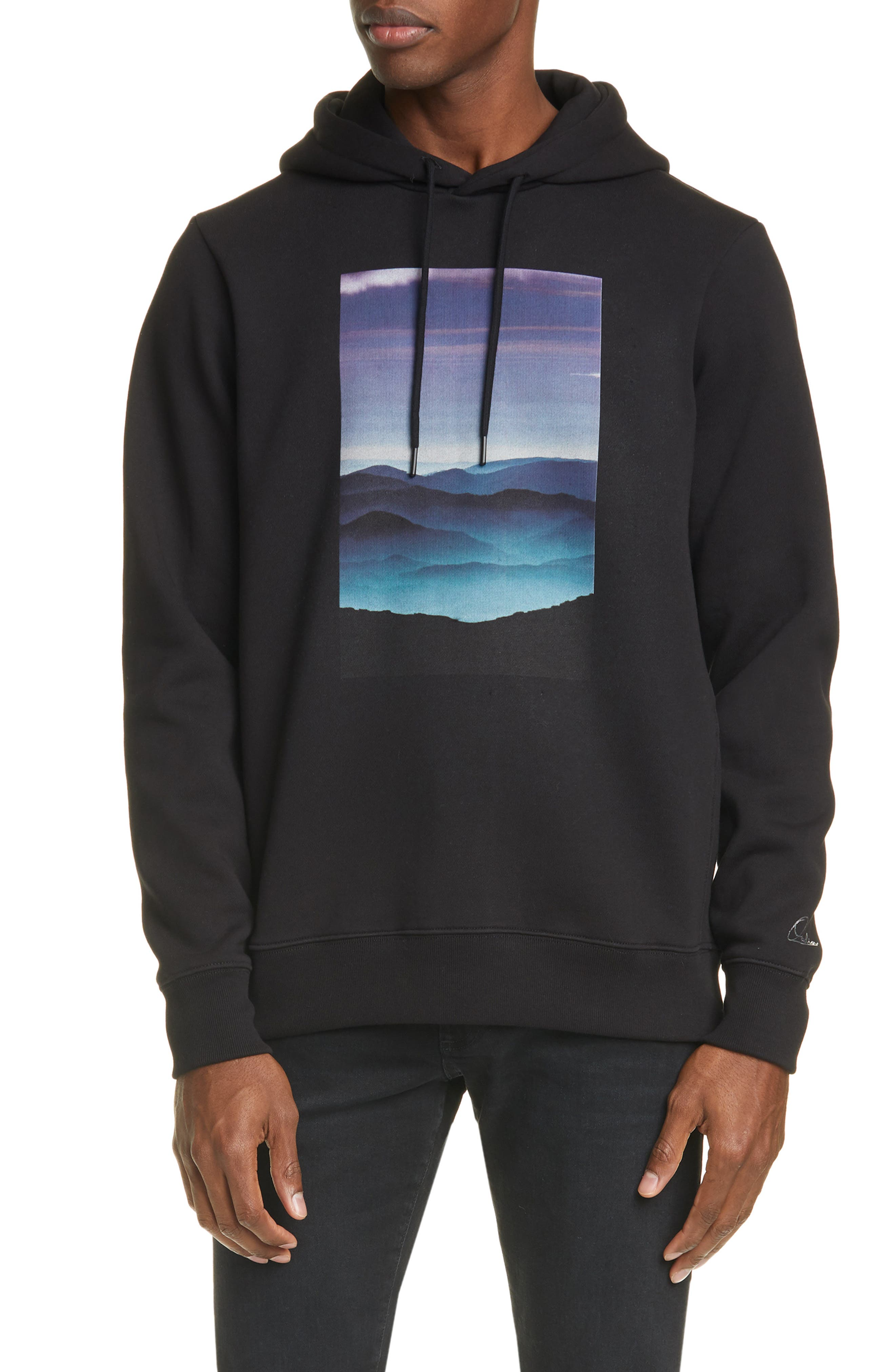 Image of OVADIA AND SONS Tatra Landscape Hoodie