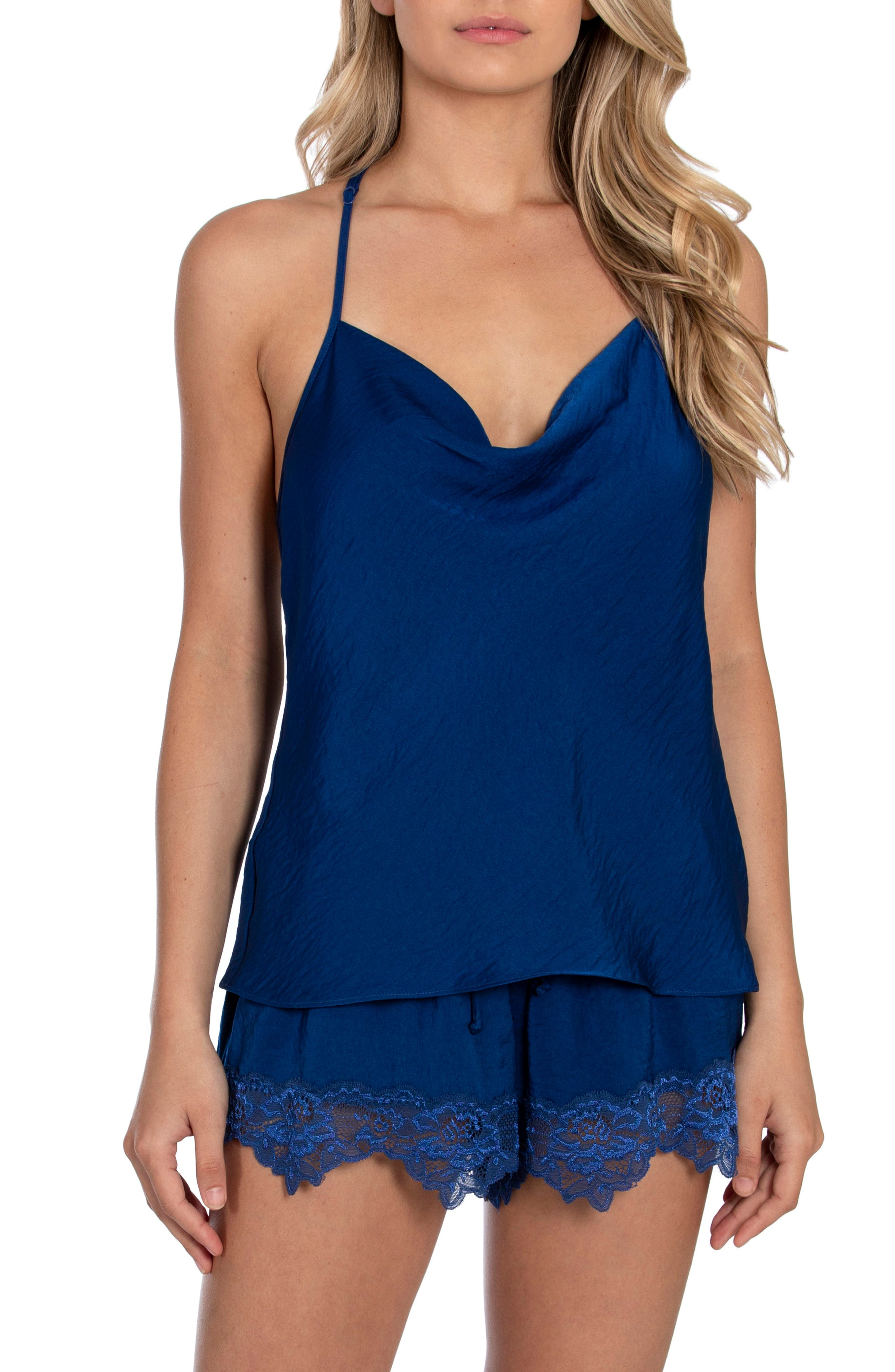 Image of In Bloom by Jonquil A Taste of Honey Camisole & Shorts 2-Piece Pajama Set