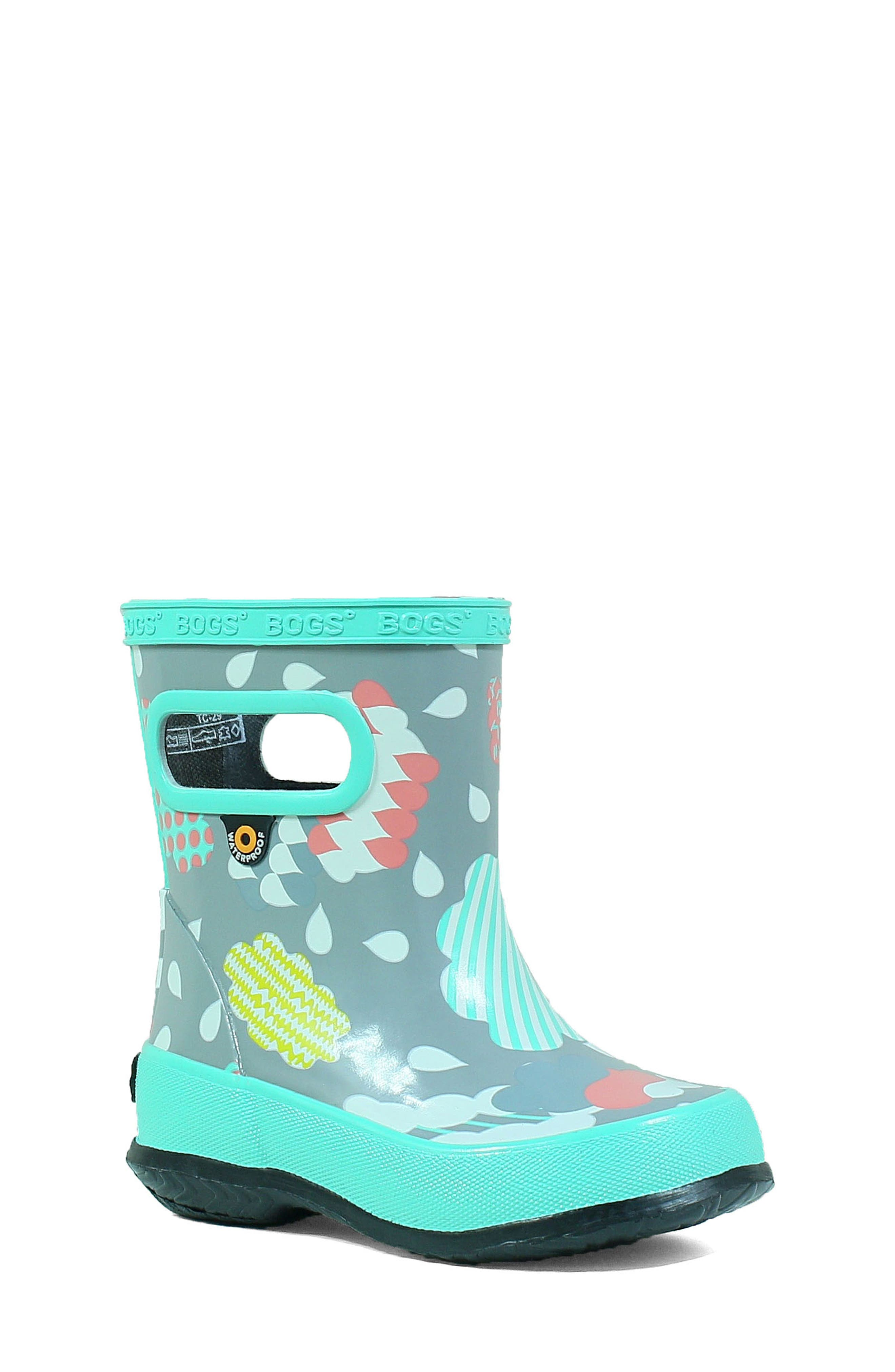 Bogs Clouds Skipper Waterproof Rain Boot