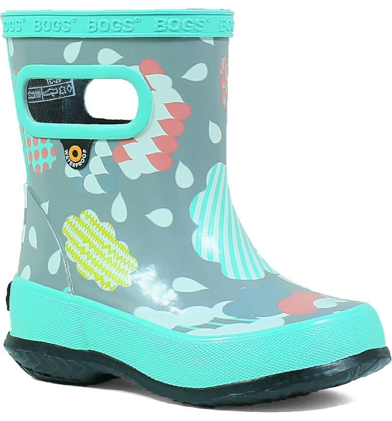 BOGS Clouds Skipper Waterproof Rain Boot, Main, color, 062