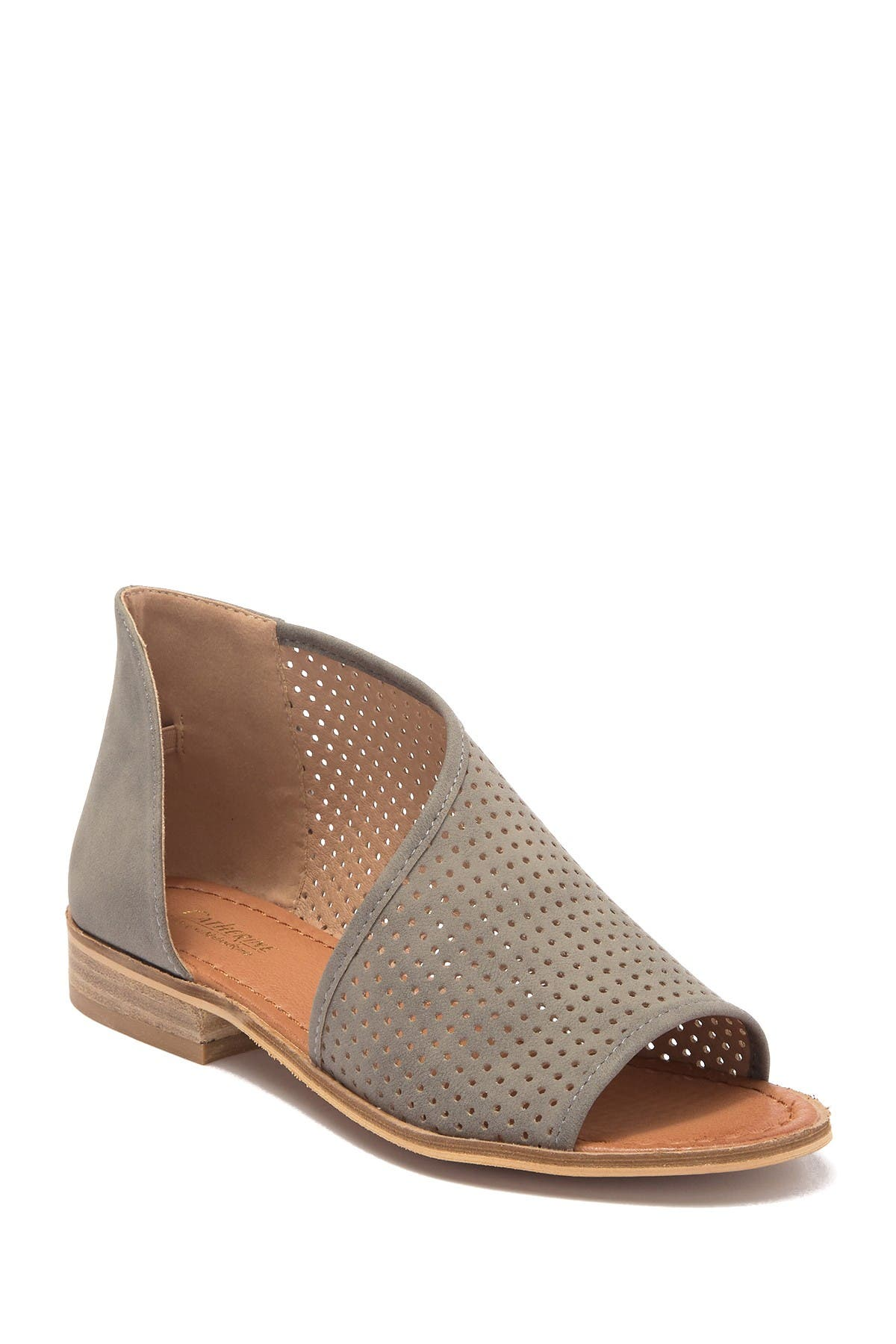 Image of Catherine Catherine Malandrino Replay Perforated d'Orsay Angled Sandal