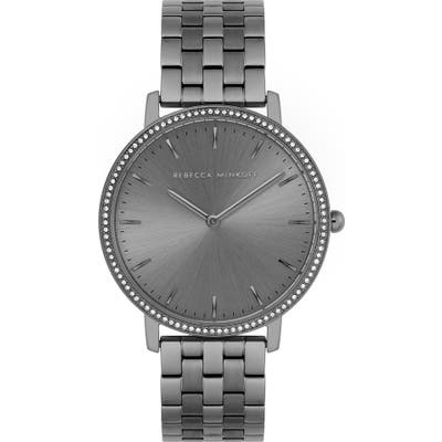 Rebecca Minkoff Major Crystal Bezel Bracelet Watch, 35Mm