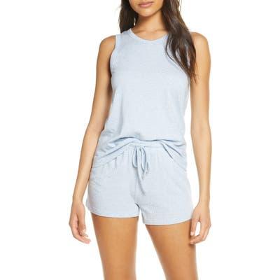Papinelle Gemma Spot Short Pajamas, Blue