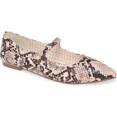 1901 Mallen Pointed Toe Flat, Pink