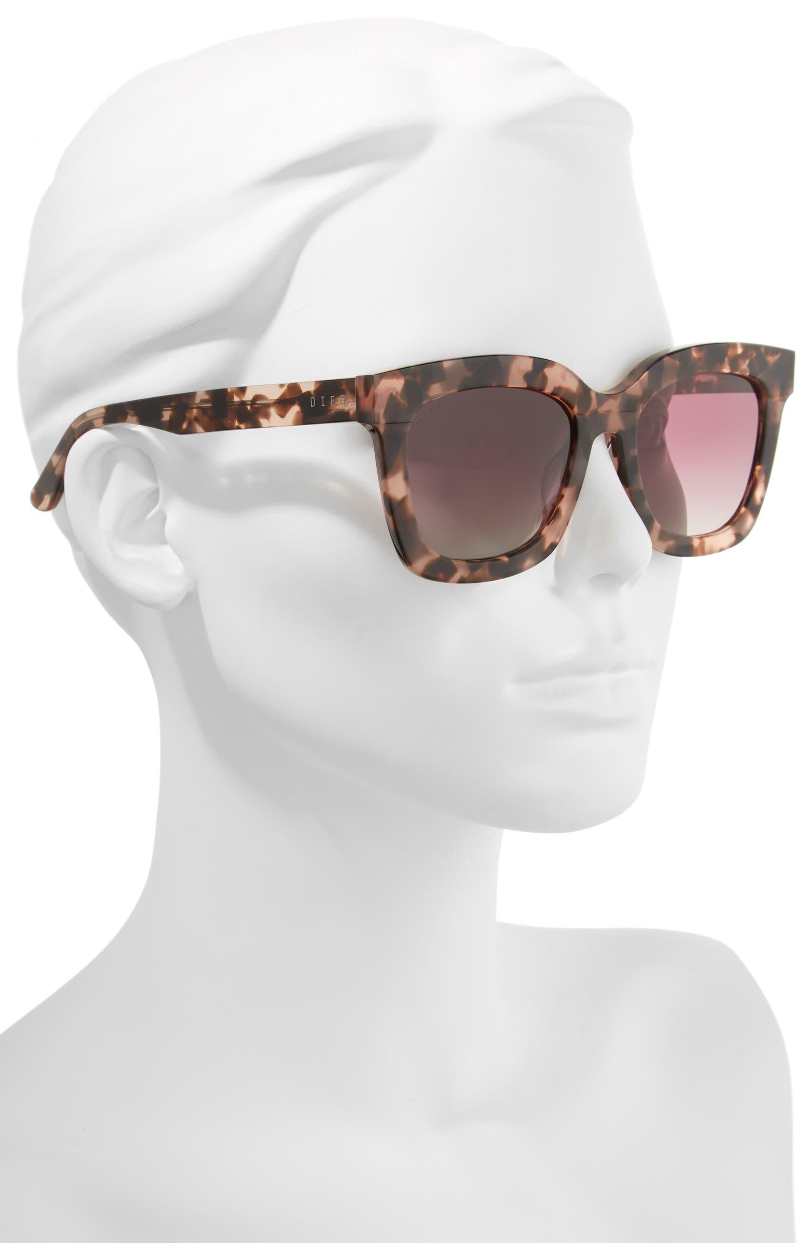8ce6f7e4082 DIFF Carson 53mm Polarized Square Sunglasses | Nordstrom