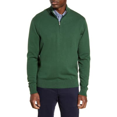 Cutter & Buck Lakemont Half Zip Sweater, Green