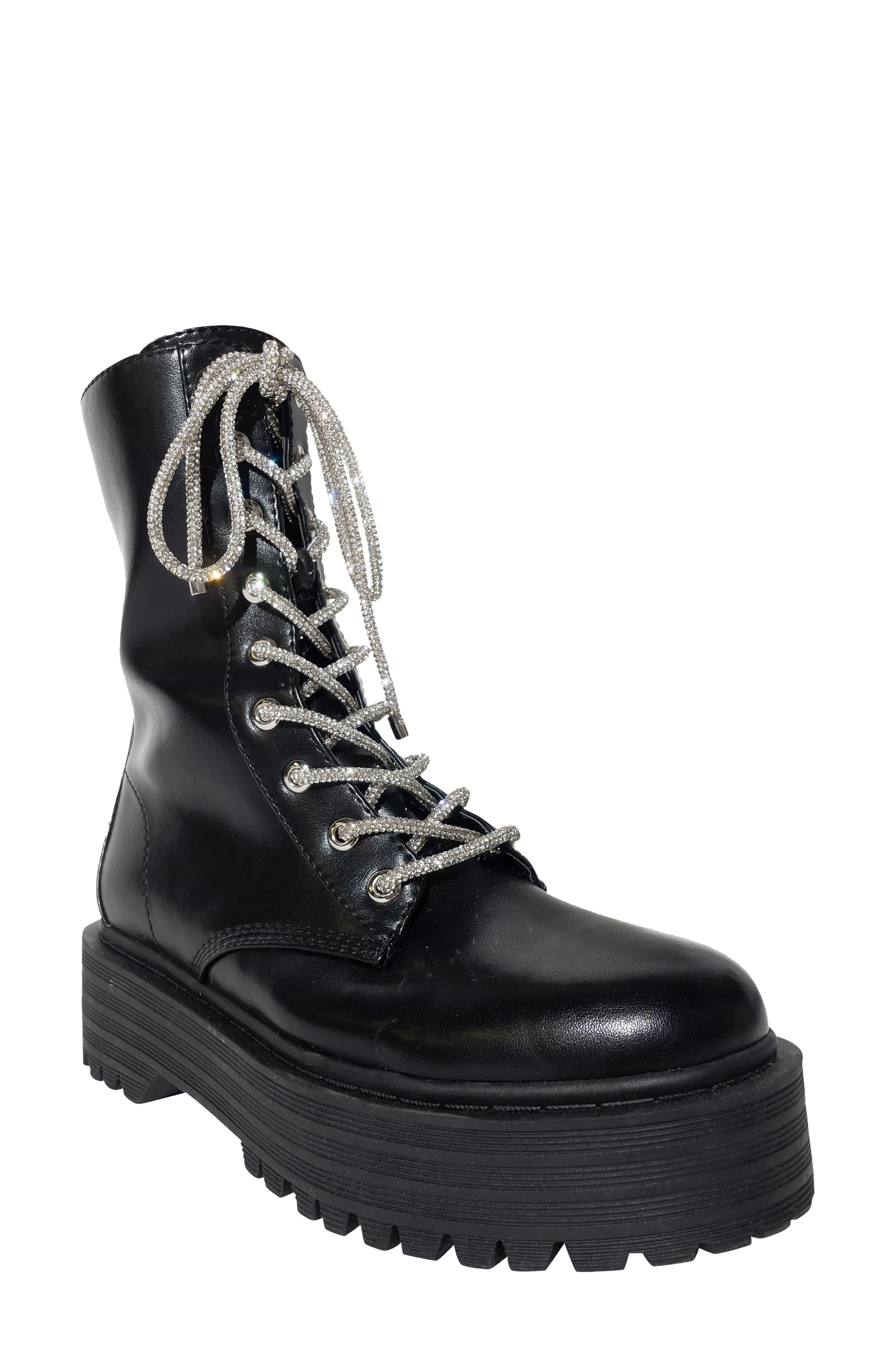 Allora Platform Combat Boot