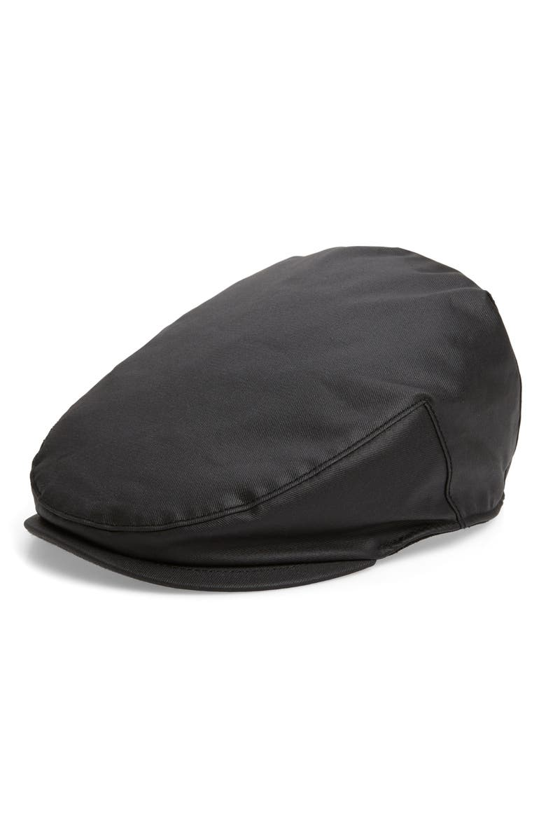 GOORIN BROS. Rain Cloud Driving Cap, Main, color, BLACK
