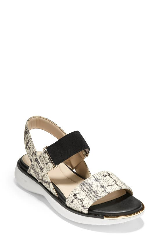 Cole Haan Leathers GRAND AMBITION CARMEL SANDAL