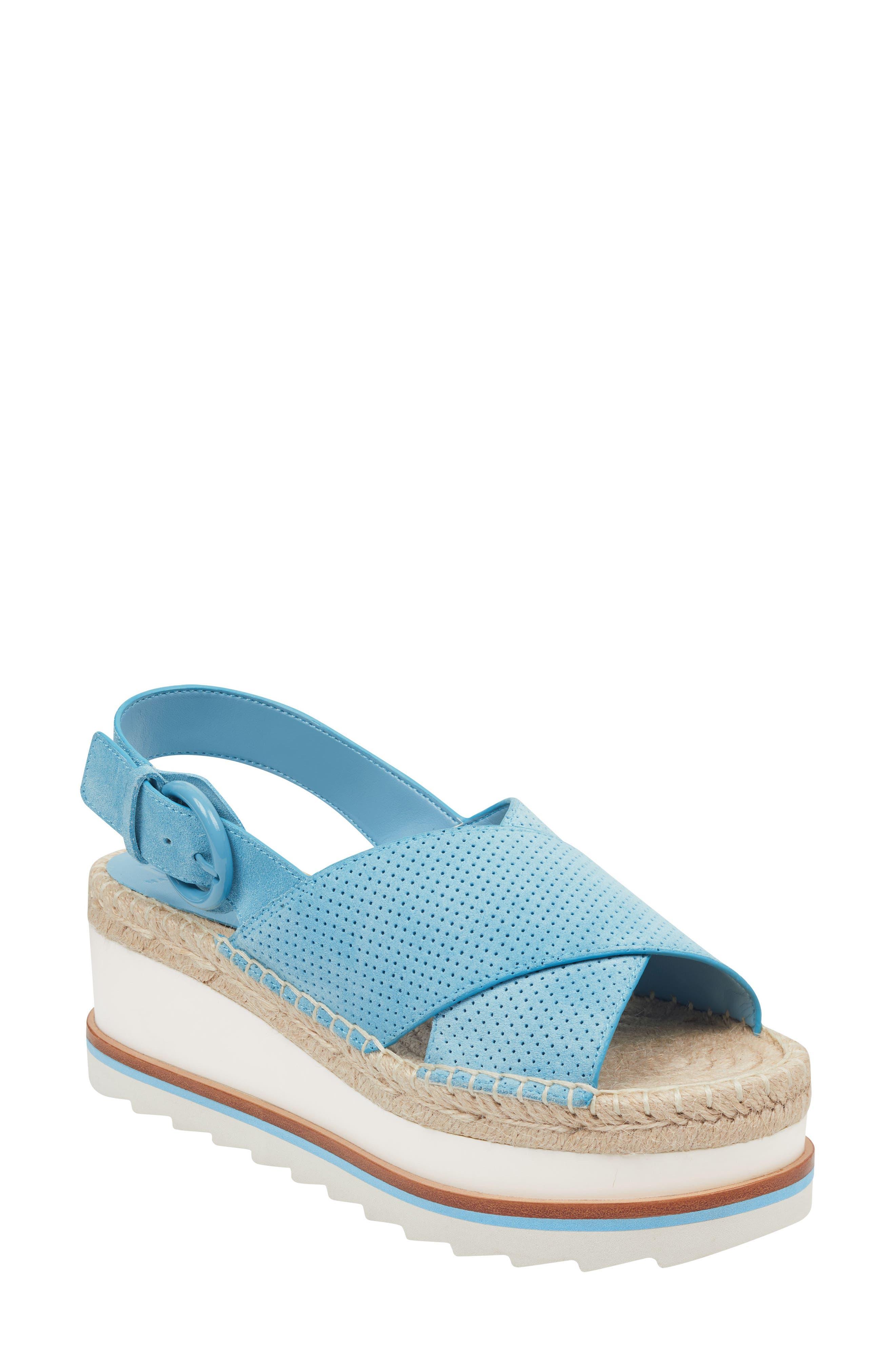 Marc Fisher Ltd Gellyn Slingback Sandal, Blue