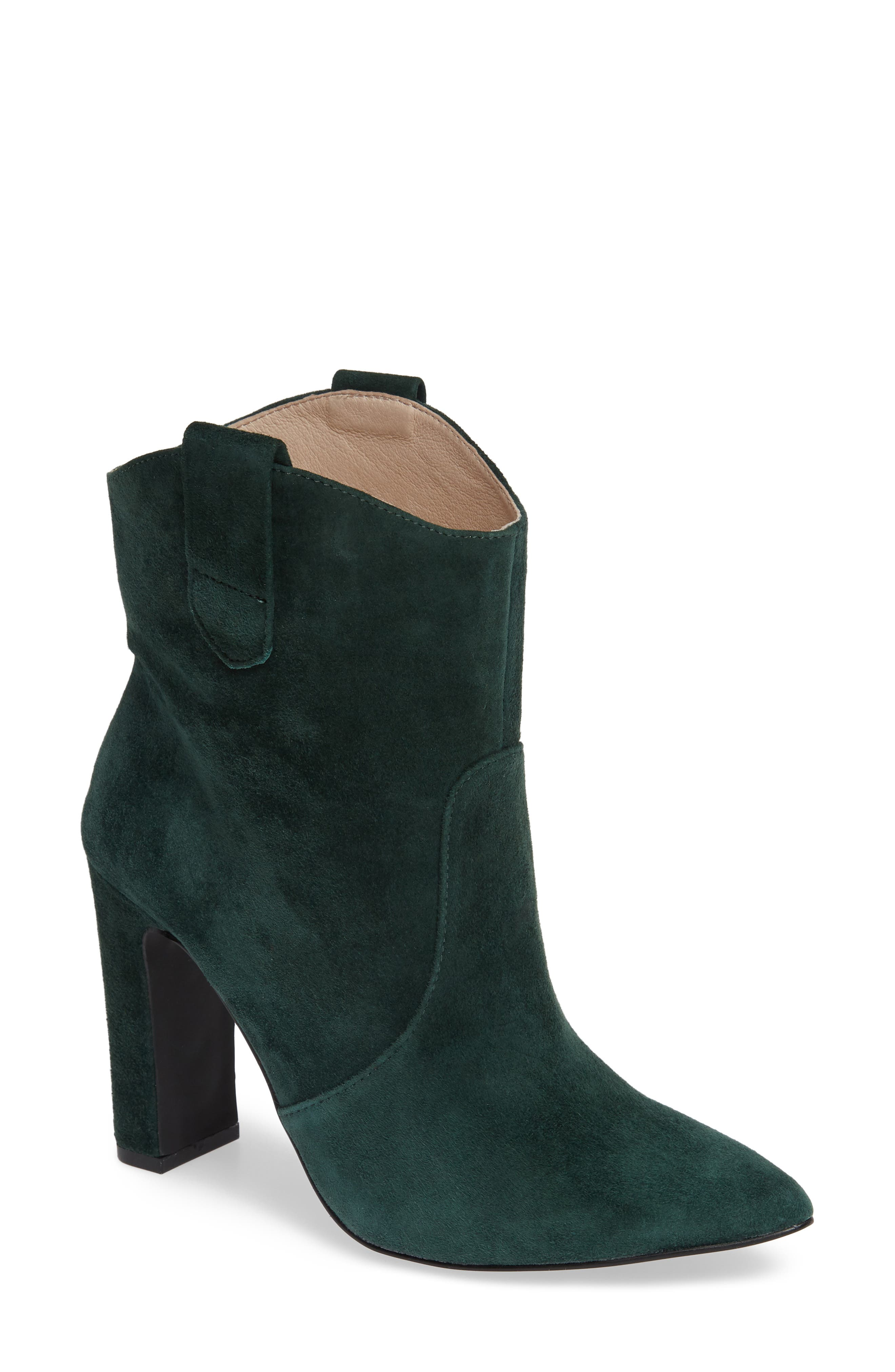 ,                             Karly Suede Bootie,                             Main thumbnail 7, color,                             335
