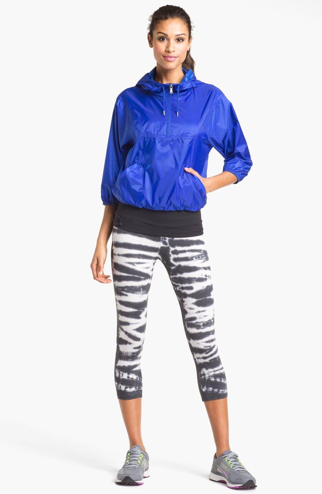 ,                             'Twist Tie' Dri-FIT Cotton Capri Pants,                             Alternate thumbnail 2, color,                             010