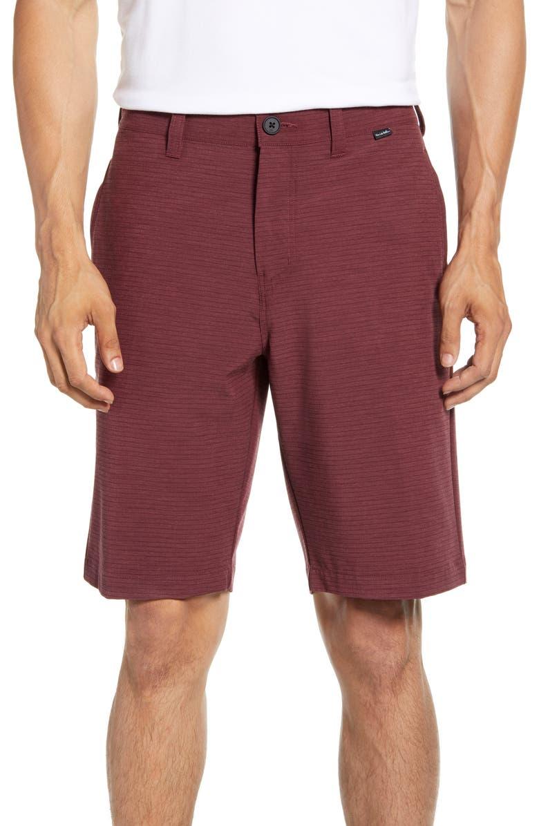 TRAVISMATHEW Bark at the Moon Shorts, Main, color, HEATHER TAWNY PORT
