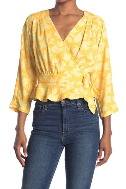 Image of Joie Ainslee Floral Peplum Blouse