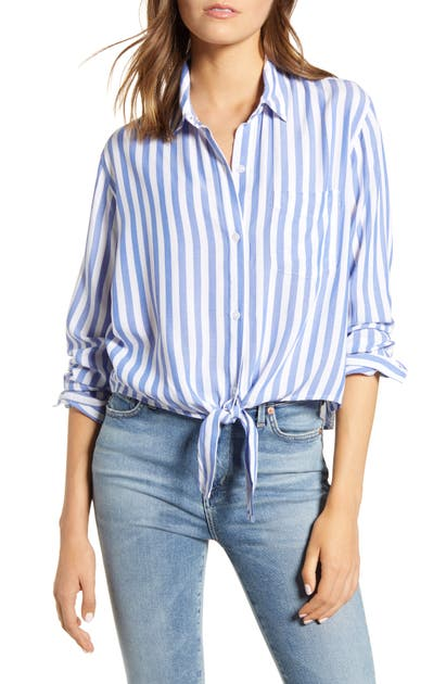 Rails Tops VAL TIE FRONT SHIRT