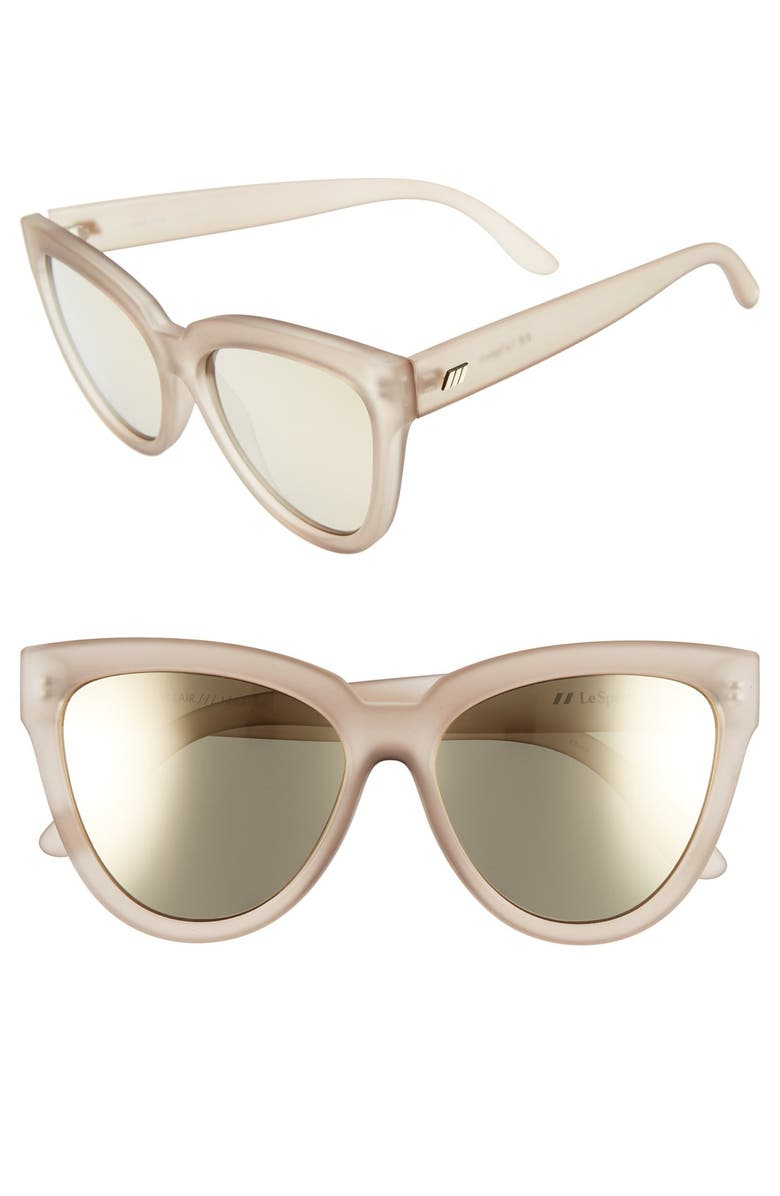 LE SPECS 'Liar Liar' 57mm Sunglasses, Main, color, 020
