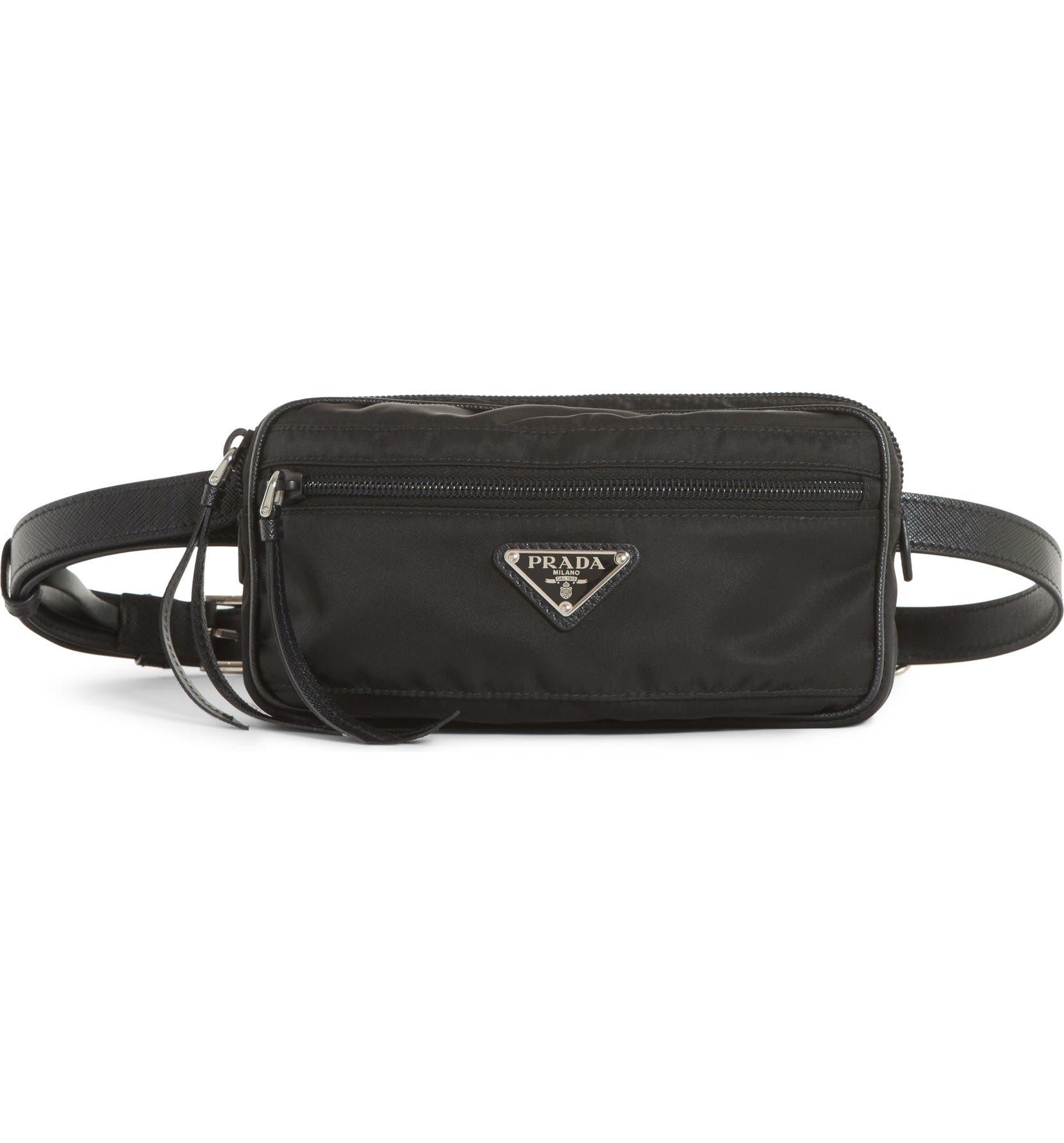 266a0fd3a409 Prada Small Nylon Belt Bag | Nordstrom