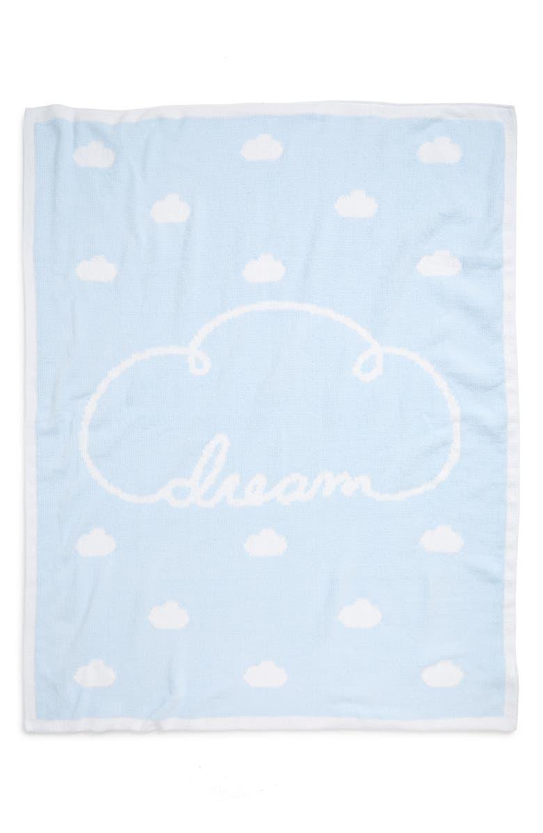 NORDSTROM BABY Chenille Blanket, Main, color, BLUE PRECIOUS DREAM