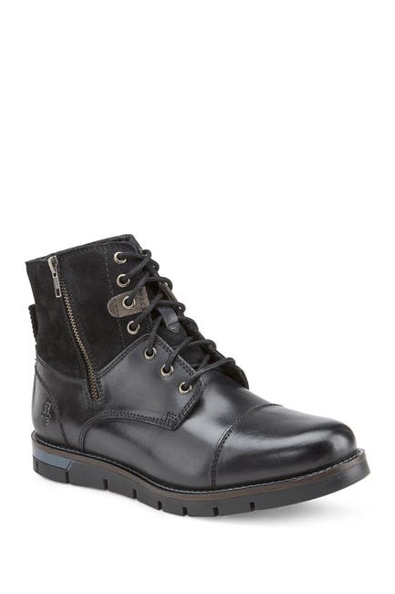 Image of Reserved Footwear Leather & Suede Boot
