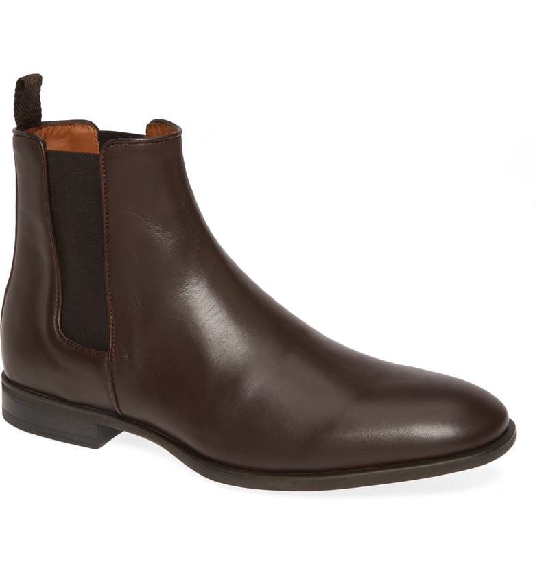 AQUATALIA 'Adrian' Water Resistant Chelsea Boot, Main, color, BROWN