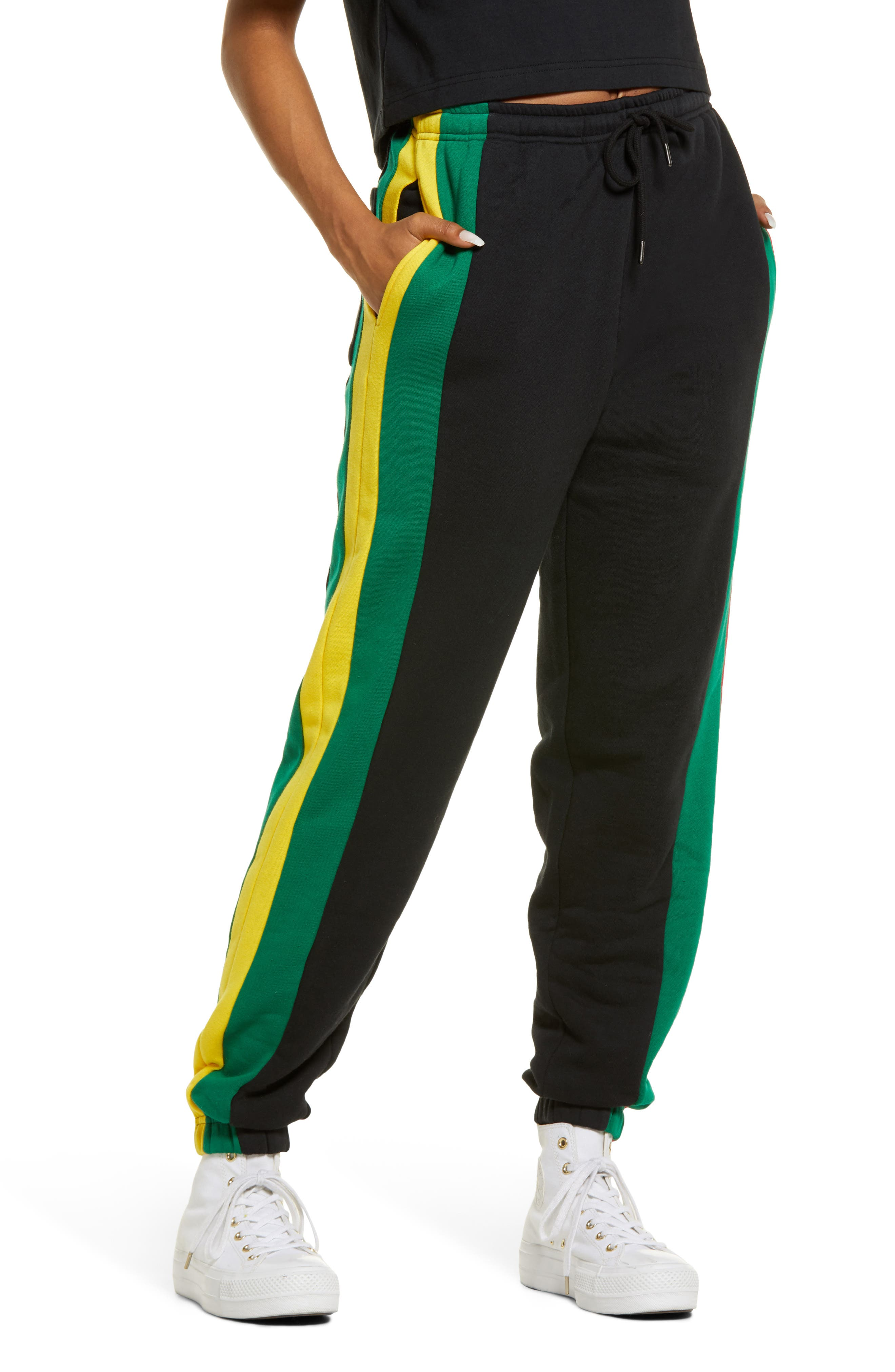 Women's Colorblock Track Pants