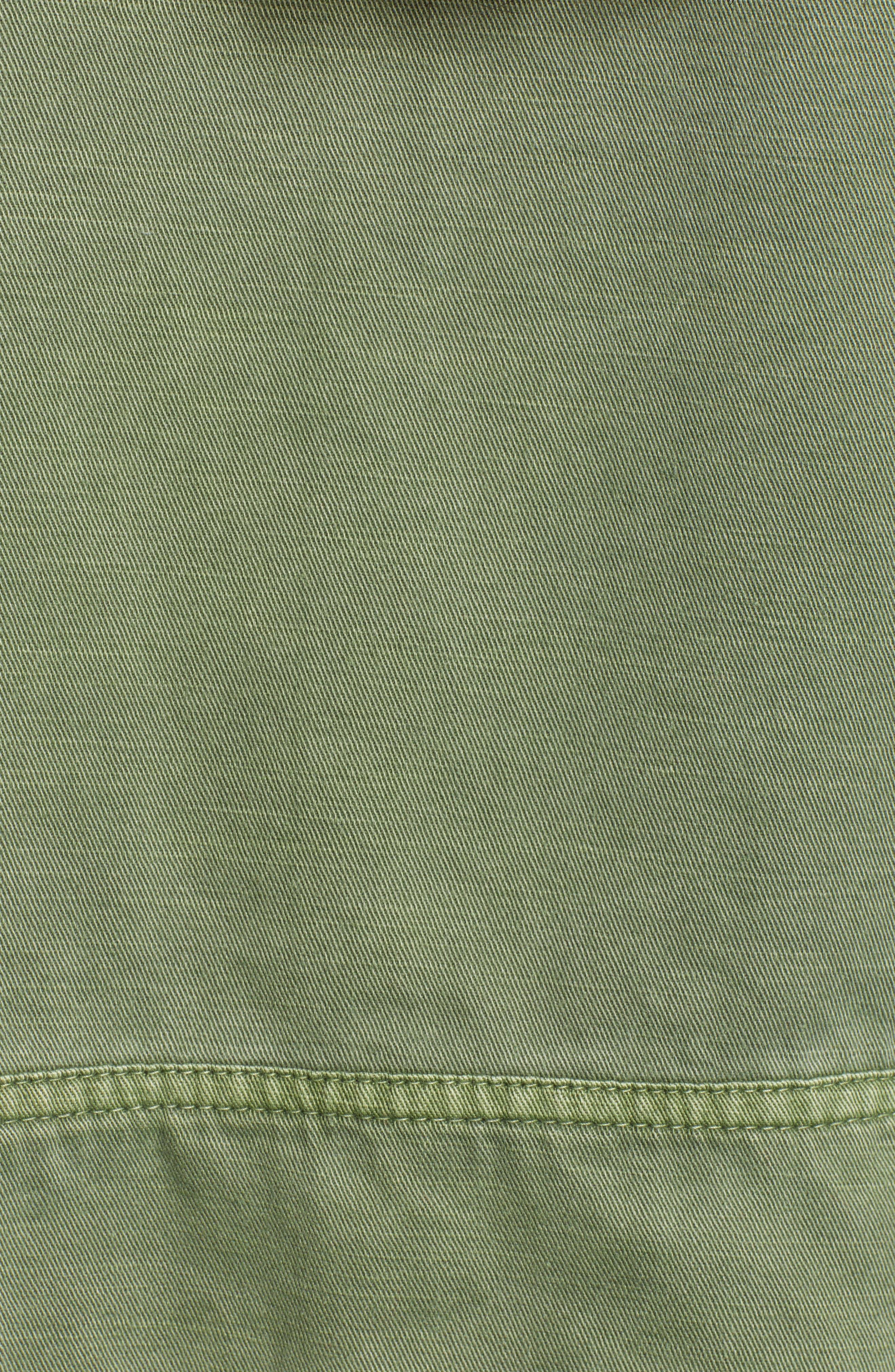 ,                             Crop Military Jacket,                             Alternate thumbnail 6, color,                             301