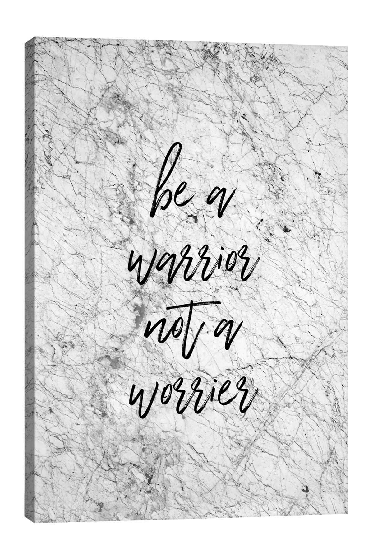 Image of iCanvas Be A Warrior by Orara Studio