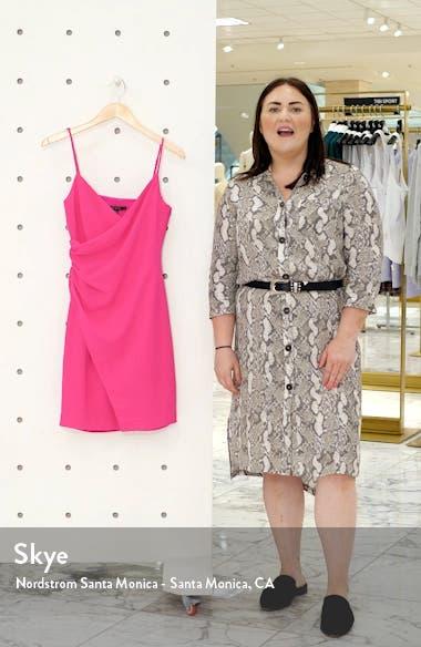 Esthero Crepe Body-Con Dress, sales video thumbnail