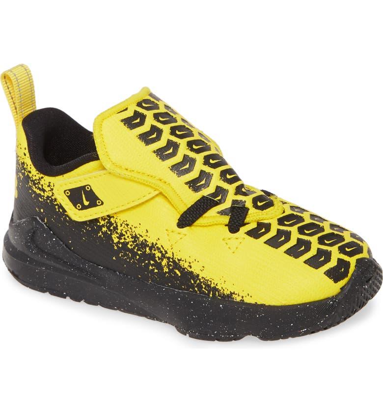 NIKE LeBron 17 Super Vroom Sneaker, Main, color, CHROME YELLOW/ BLACK