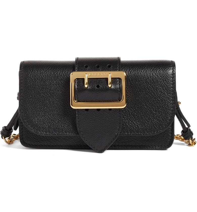 ddb2ac8570 Burberry Mini Buckle Calfskin Leather Bag | Nordstrom