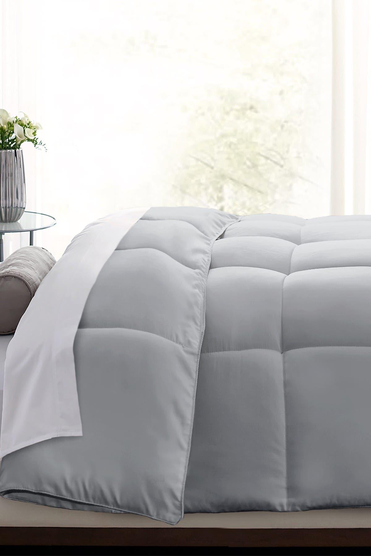 Image of Blue Ridge Home Fashions Down Alternative Microfiber Comforter - King - Platinum
