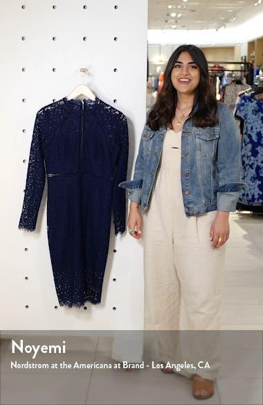 Rozie Long Sleeve Lace Dress, sales video thumbnail