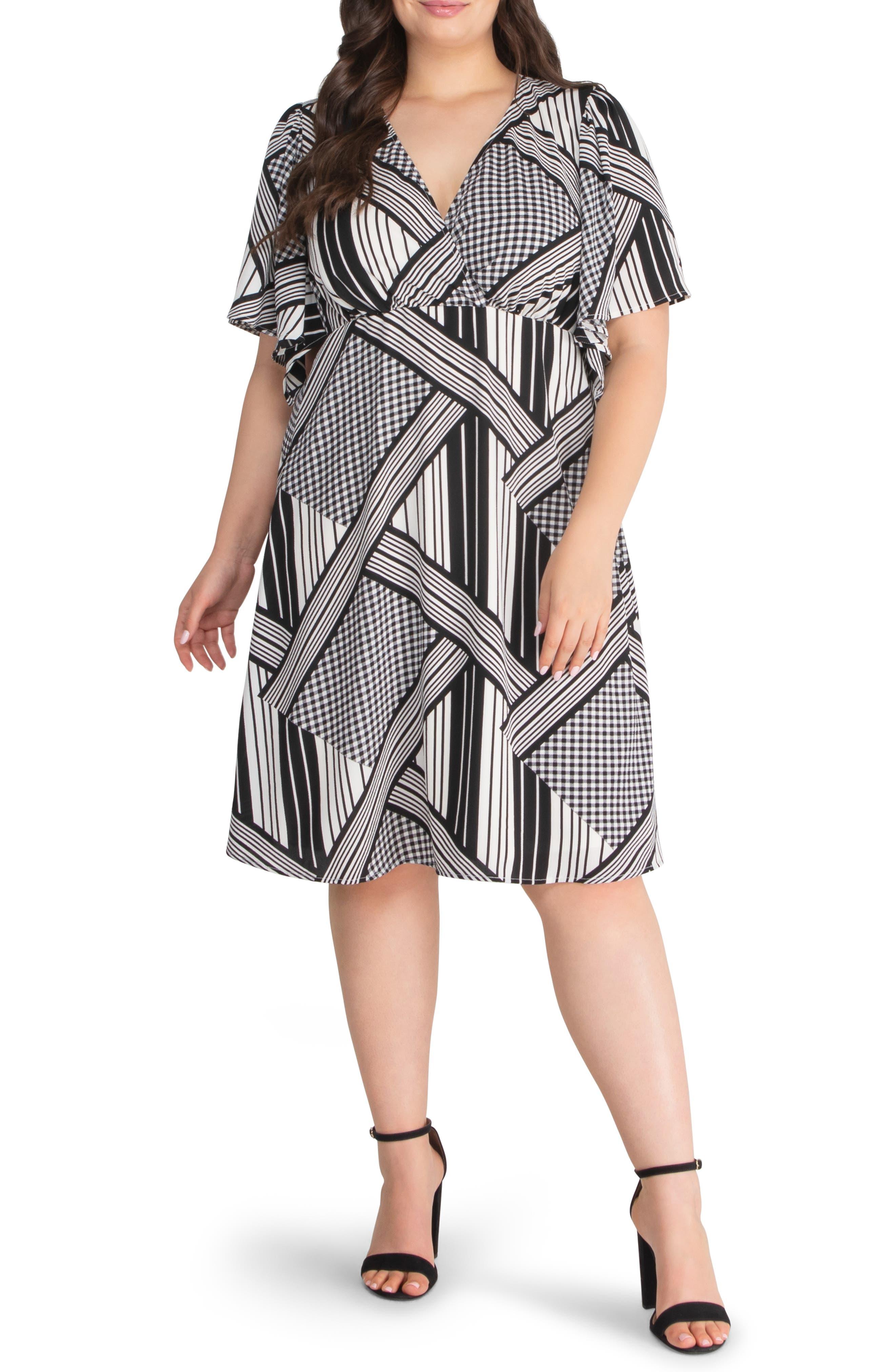 Florence Flutter Sleeve Dress