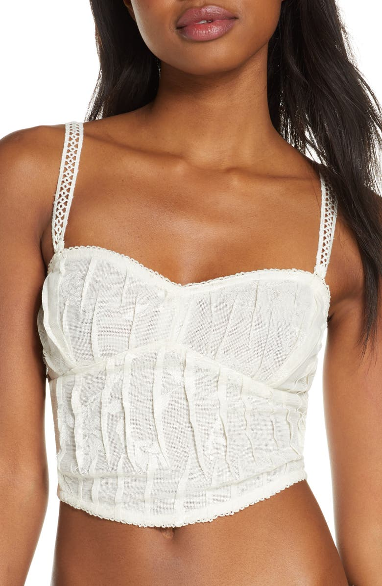 FREE PEOPLE Intimately FP All I Want Corset Camisole, Main, color, IVORY