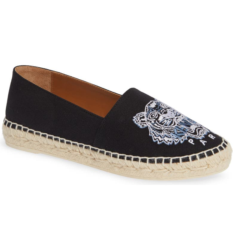 d5ca03fe117 KENZO White Tiger Embroidered Espadrille (Women) | Nordstrom