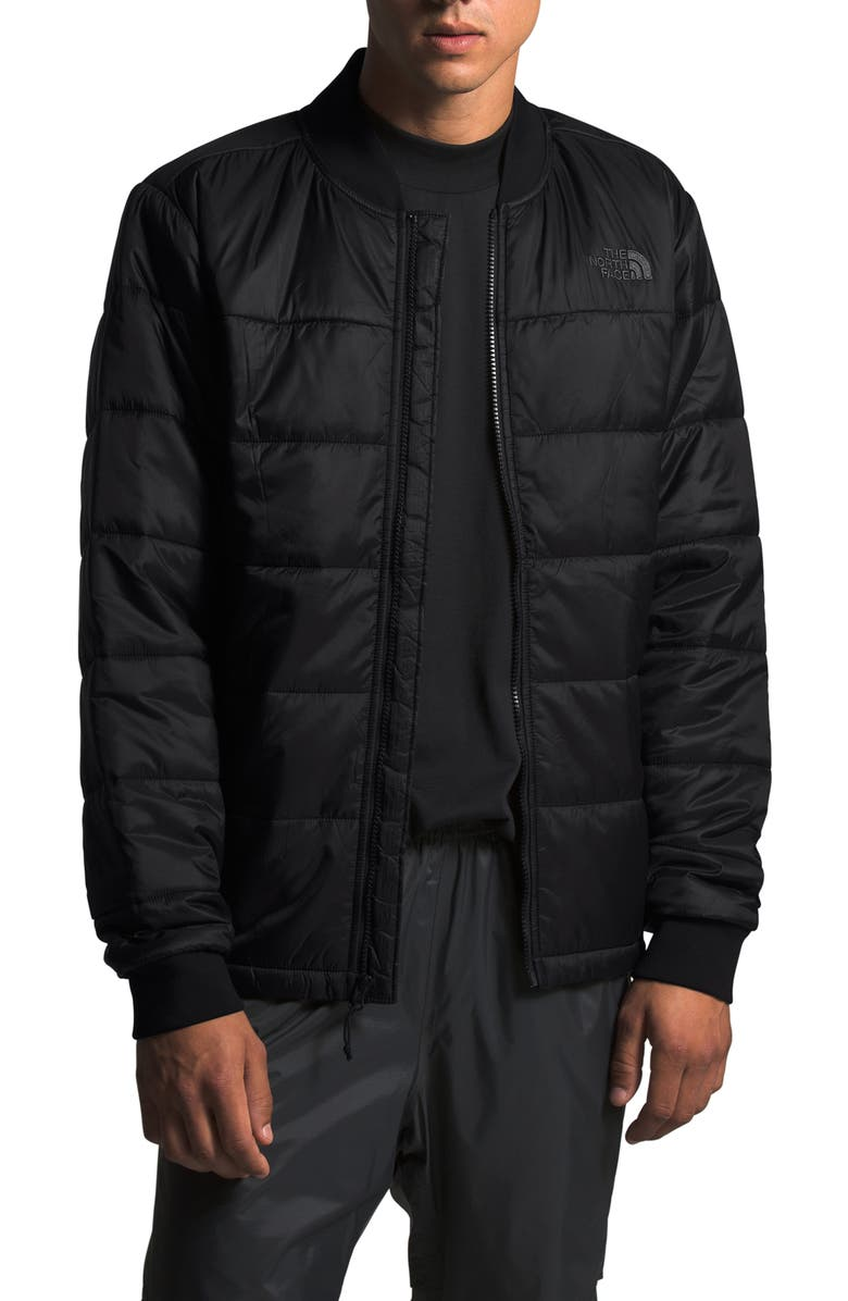 THE NORTH FACE Pardee Water Repellent Heatseeker<sup>™</sup> Insulated Jacket, Main, color, 001