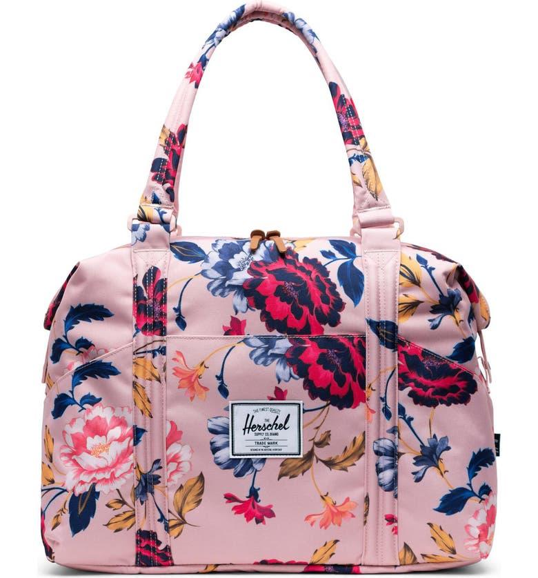 HERSCHEL SUPPLY CO. Strand Duffle Bag, Main, color, WINTER FLORA