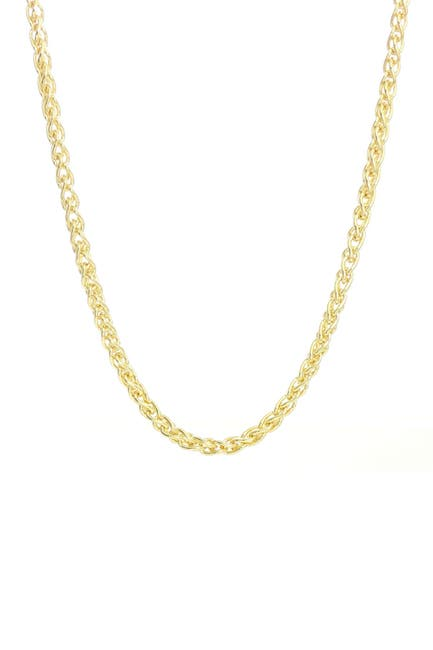 Image of Savvy Cie Wheat Chain Necklace