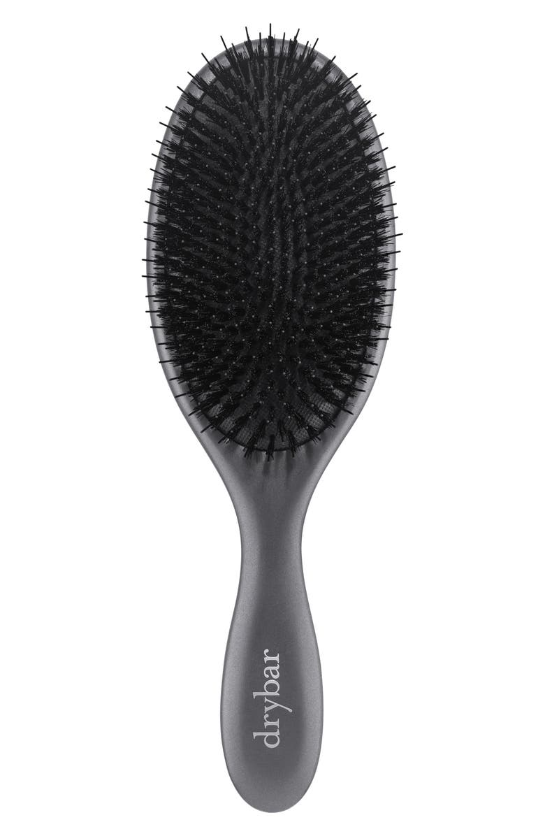 DRYBAR Flat Mate Boar Bristle Brush, Main, color, NO COLOR