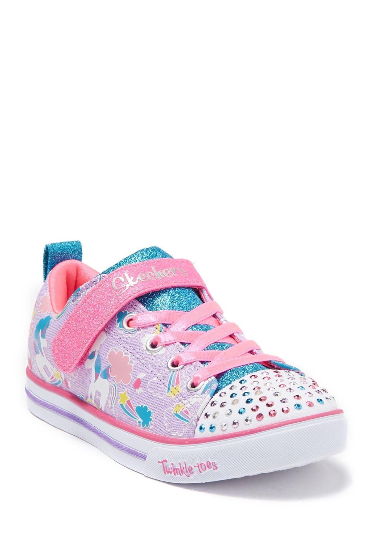 Image of Skechers Sparkle Lite Sparkle Friends Sneaker