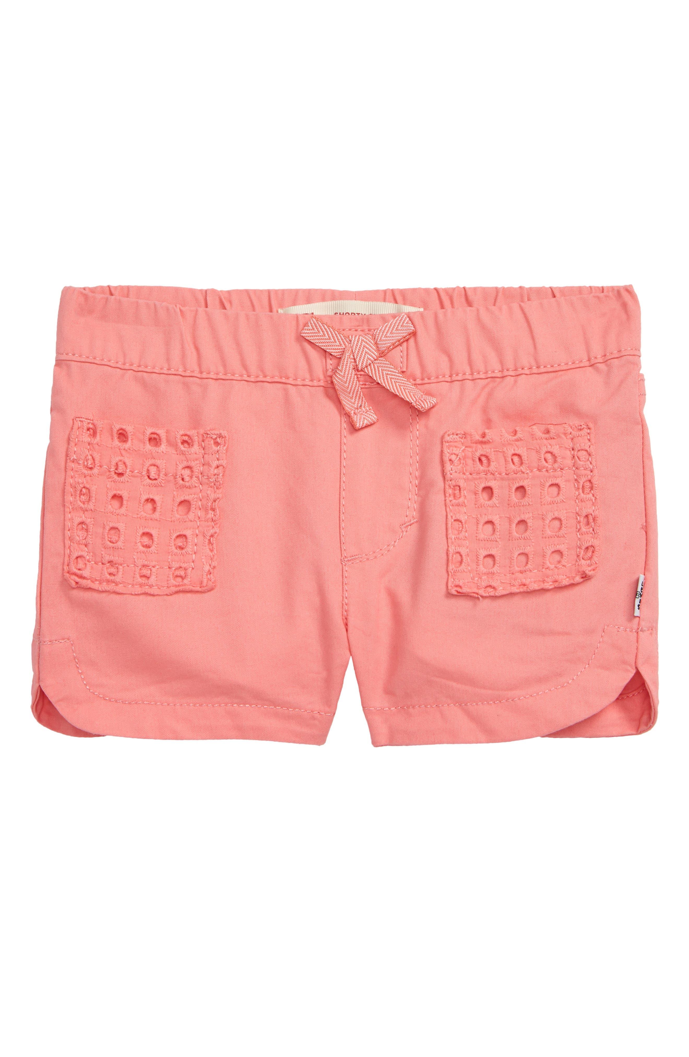 Image of Levi's Dolphin Shorty Shorts (Baby Girls)