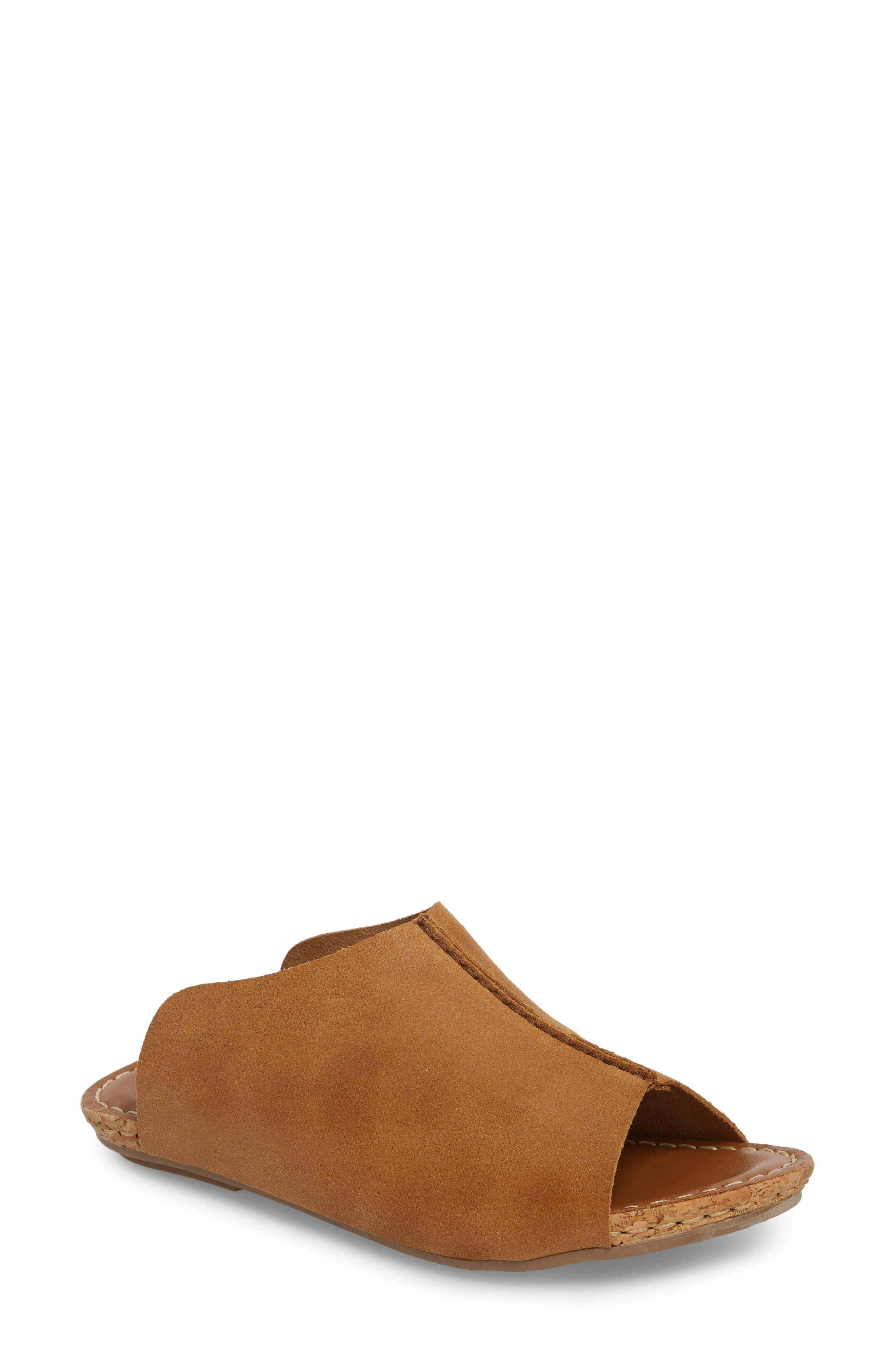 Klub Nico Gracey Slide Sandal, Brown
