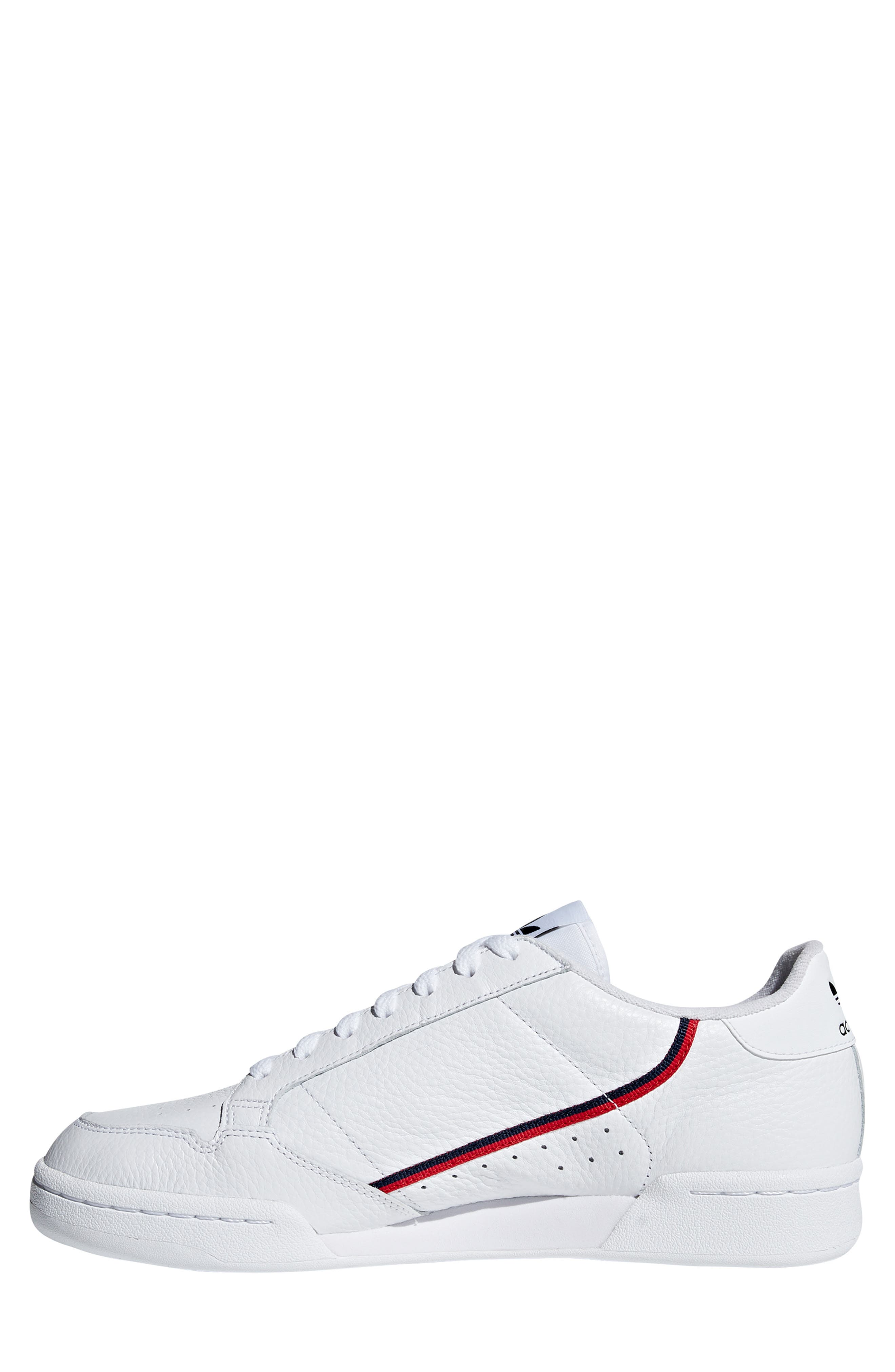 ,                             Continental 80 Sneaker,                             Alternate thumbnail 11, color,                             WHITE/ SCARLET
