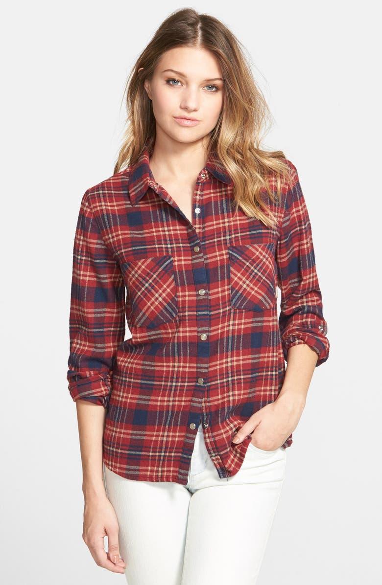 ELEMENT 'Slacker' Flannel Shirt, Main, color, 650