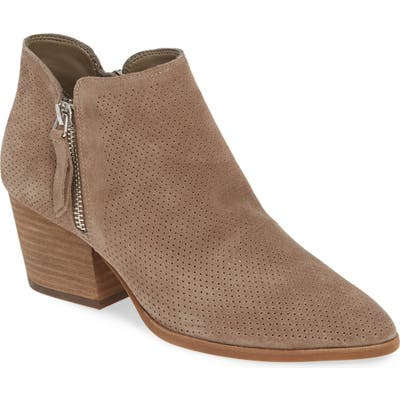 Vince Camuto Nethera Perforated Bootie, Beige (Nordstrom Exclusive)