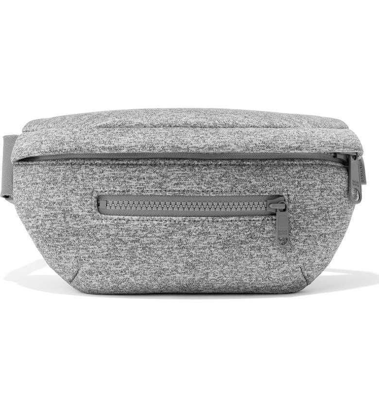 DAGNE DOVER Ace Neoprene Fanny Pack, Main, color, HEATHER GREY