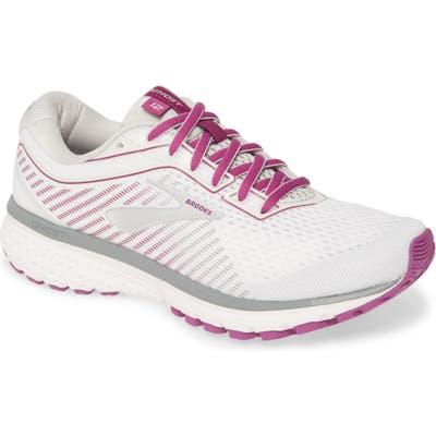 Brooks Ghost 12 Running Shoe B - White