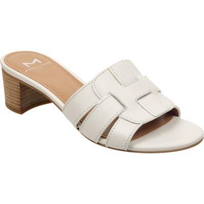 Marc Fisher Ltd Debora Slide Sandal, White