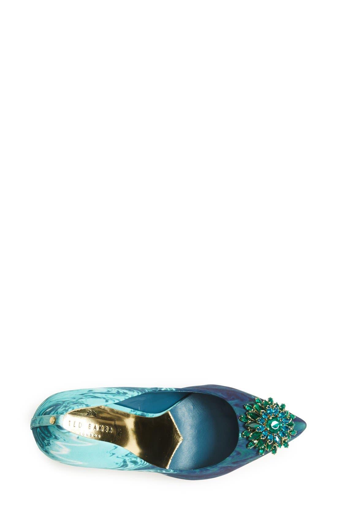 ,                             'Annabilla' Pointy Toe Pump,                             Alternate thumbnail 12, color,                             477