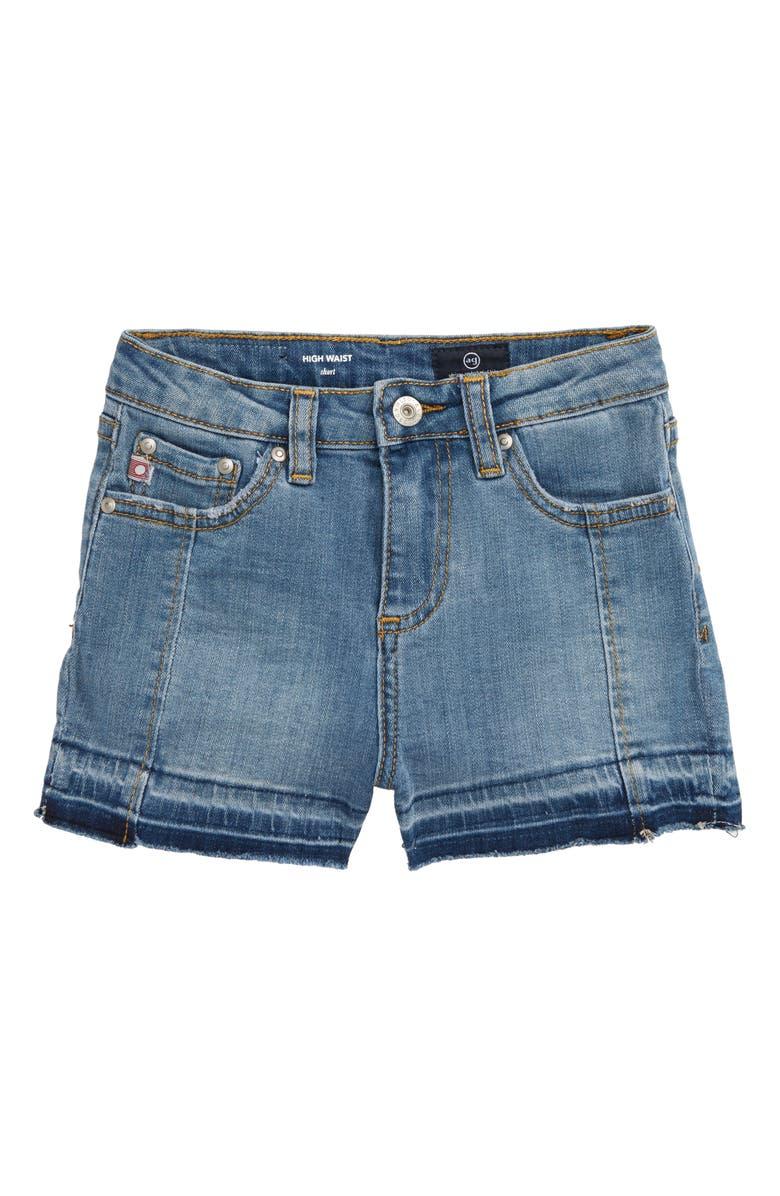 AG Biana Release Hem Shorts, Main, color, 494